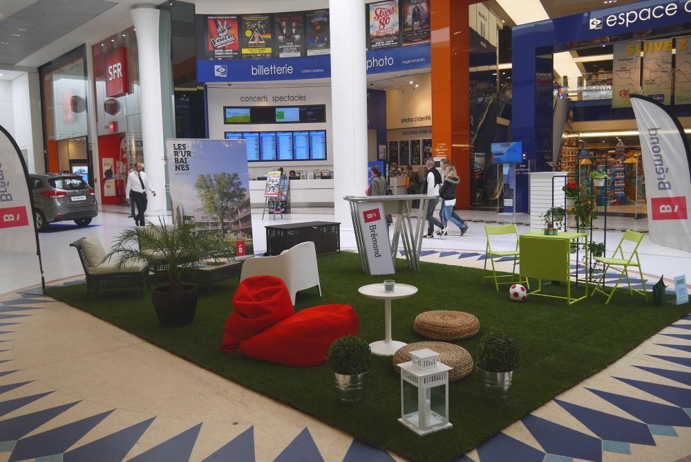 nantes gazon intervient dans la galerie atlantis pour les. Black Bedroom Furniture Sets. Home Design Ideas